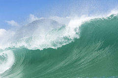Big Wave, Piha Royalty Free Stock Photo