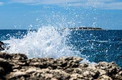 Big wave splash Royalty Free Stock Image