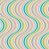 Big wave stripes Stock Photography
