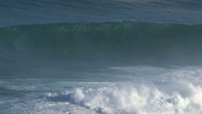 Big wave surfing break Jaws in Pe驶ahi at the north shore of the island of Maui, Hawaii