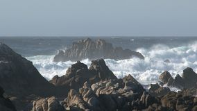 Big wave Westcoast, California, United States stock video