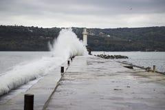 Big waves Stock Photo