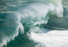 Big waves crashing Royalty Free Stock Image