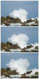 Big waves crashing down Royalty Free Stock Images