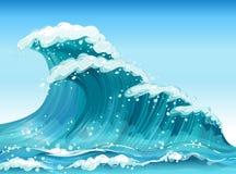 Big waves Stock Image