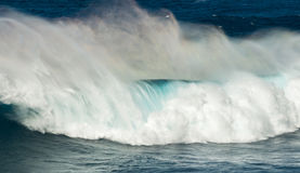 Big waves jaws maui hawaii Stock Photo