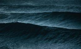 Big waves on ocean royalty free stock photos
