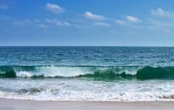 Big waves ocean Stock Image
