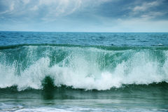 Big waves ocean Stock Images
