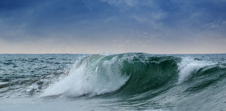 Big waves ocean Royalty Free Stock Photos