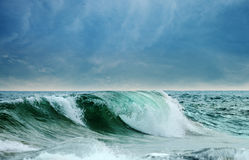 Big waves ocean Stock Photo