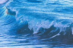 Big waves from the ocean Royalty Free Stock Image