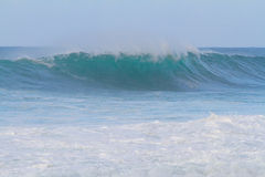 Big Waves at Pipeline Oahu Royalty Free Stock Images
