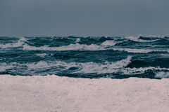 Storm at the sea Stock Photography