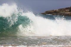 Big waves on sea Royalty Free Stock Image