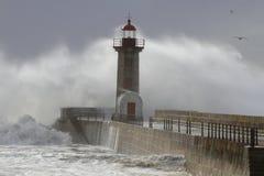 Big waves splash and spray Royalty Free Stock Image