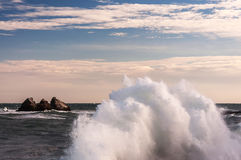Big waves Royalty Free Stock Photo