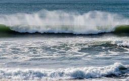 Big Waves Washington State. Pacific Ocean Waves Washington State Stock Images
