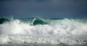 Big waves Royalty Free Stock Image