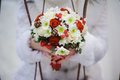 Big wedding bouquet Royalty Free Stock Images