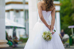 Big wedding bouquet Royalty Free Stock Image