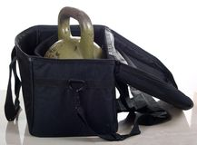 Big weight on bag Royalty Free Stock Photo