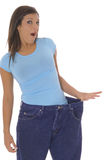 Big weightloss Stock Images