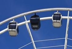 Big Ferris wheel against blue sky Royalty Free Stock Image