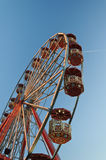 Big wheel. Against a blue sky Royalty Free Stock Photo