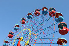 Big wheel. Over blue sky Stock Photography
