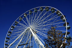 Big wheel. Ride Royalty Free Stock Photography