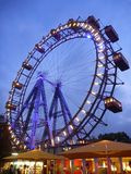 Big wheel atraction in Prater. Famous big wheel atraction in Prater Stock Photography