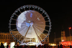 Big Wheel in Bellecour Royalty Free Stock Photos