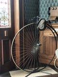 Big wheel bicycle royalty free stock photos