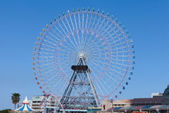 Big wheel with blue sky Stock Image