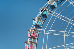 Big Wheel on Blue Sky Royalty Free Stock Photo