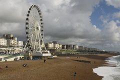 Big Wheel Brighton Stock Images
