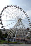 Big wheel in Budapest Royalty Free Stock Image
