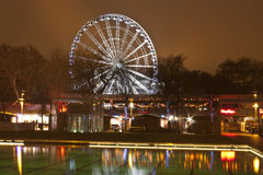 The Big Wheel in Budapest stock image