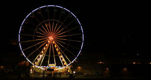Big wheel. In the city of toulouse stock video footage