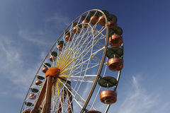 Big wheel in Southern France Royalty Free Stock Photography