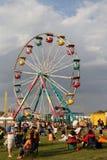 Big Wheel at Crawfish Festival Stock Photos