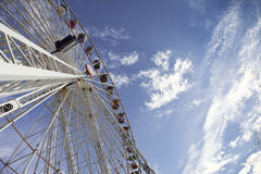 Big wheel in a fairground Royalty Free Stock Images