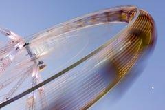 Big wheel on a fun fair Royalty Free Stock Images