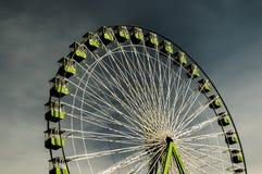 Big wheel. On a fun fare in Santa Cruz de Tenerife royalty free stock photo