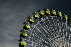 Big wheel. On a fun fare in Santa Cruz de Tenerife royalty free stock photography