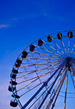 Big wheel at fun park Royalty Free Stock Photo