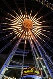 Big Wheel in Lyon Royalty Free Stock Image