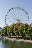 Big Wheel of Montreal Canada stock photography
