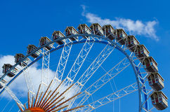 Big wheel at the Oktoberfest Stock Photos